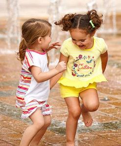 Одежда для девочек 2-10 лет