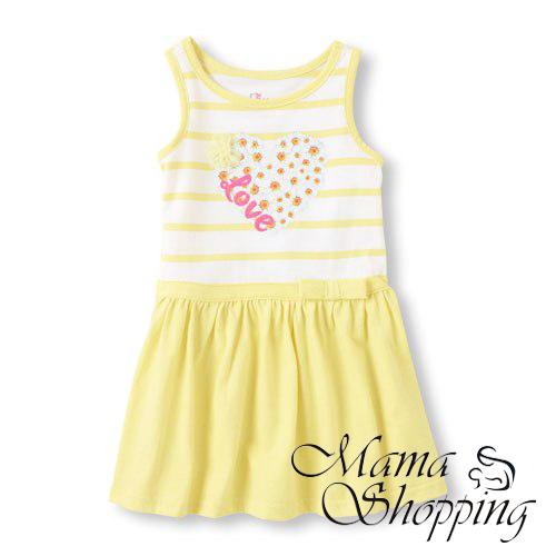 kupit-platie-sarafan-childrensplace-zheltiy-2038890004