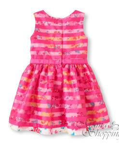 платье розовое 2036793005