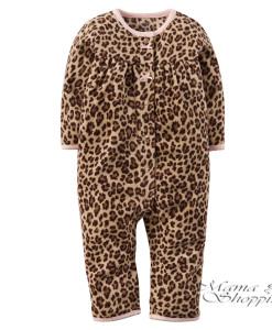 комбинезон человечек леопард 118G004_Brown