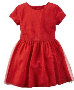 платье красное 251G028