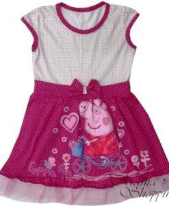 летнее платье со свинкой пеппой