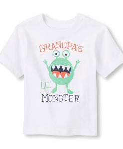 футболка белая монстрик 2059635