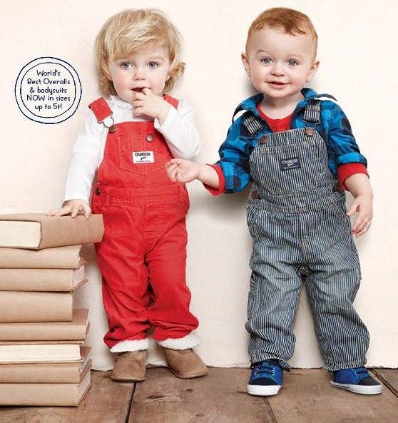 джинсовый комбинезон для девочек и мальчиков