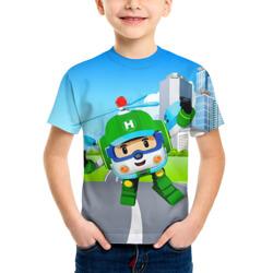 Детская футболка Робокар Поли купить