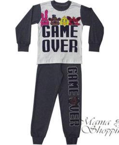 """Пижама подростковая """"Game over"""""""