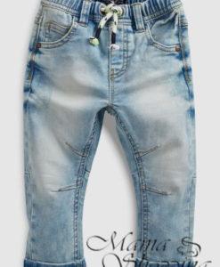 джинсы некст голубые